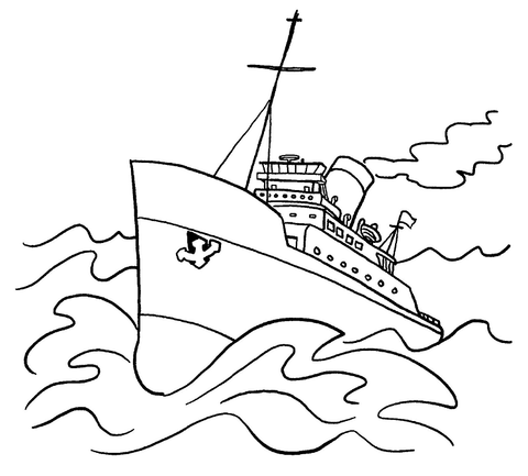 480x433 Row Boat Coloring Page. Fishing Boat Coloring Page Free Printable
