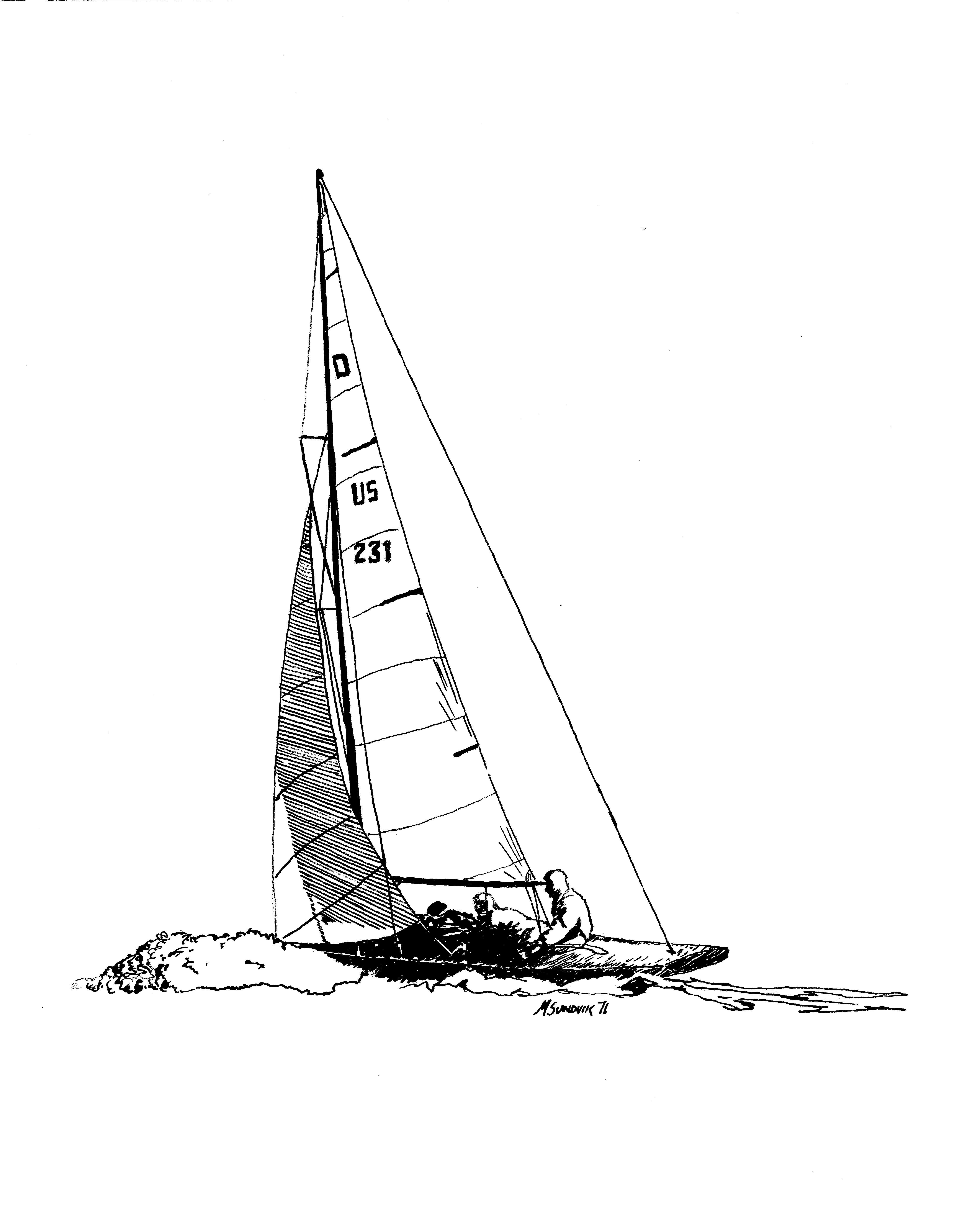 4519x5676 Sailing Drawings Original Artwork For Sale