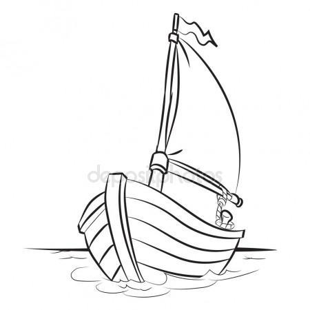 450x450 Boat Cartoon