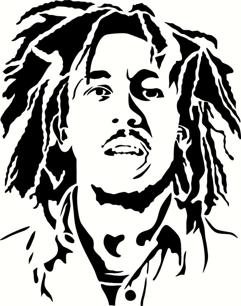 805x1024 Bob Marley Drawing Bob Marley Coloring Pages