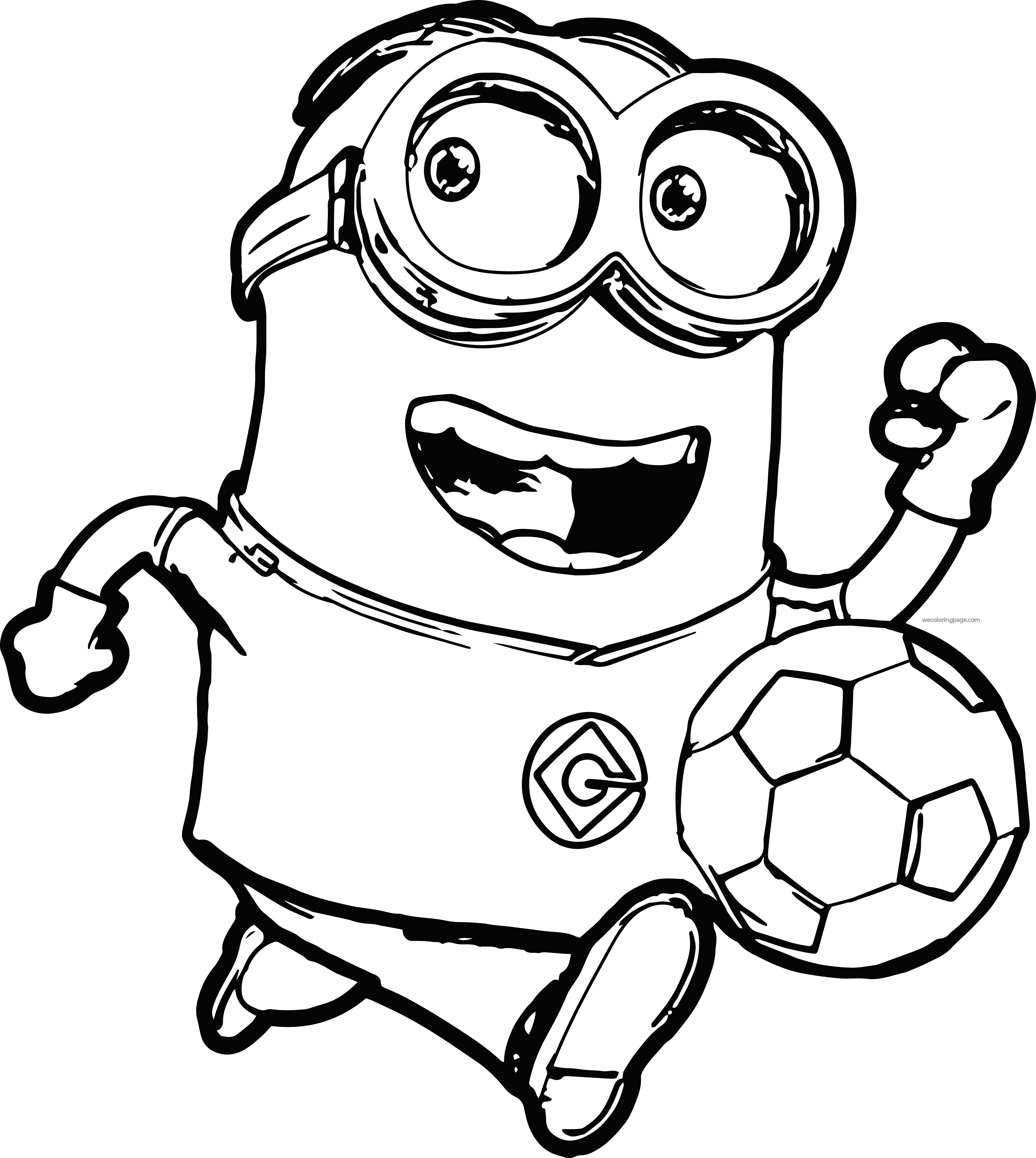3945x4408 Film Bob The Minion Coloring Pages Minions To Colour In Free Fancy