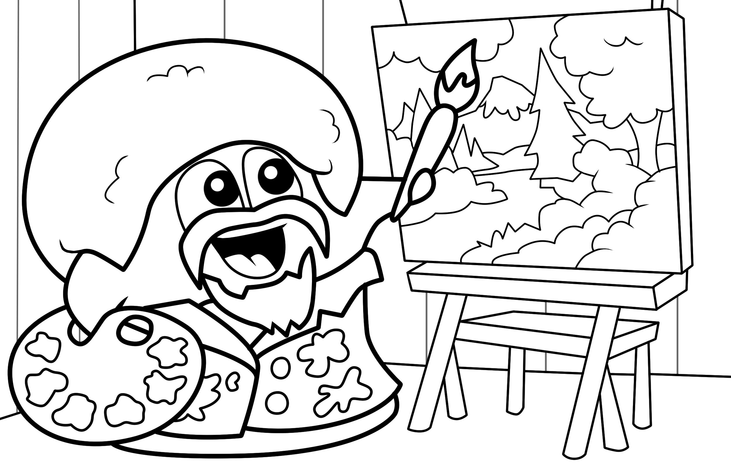 Bob Ross Drawing at GetDrawings | Free download