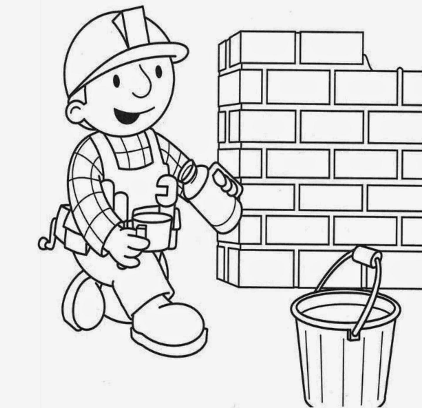 Increíble Bob The Builder Para Colorear Mareado Motivo - Ideas Para ...