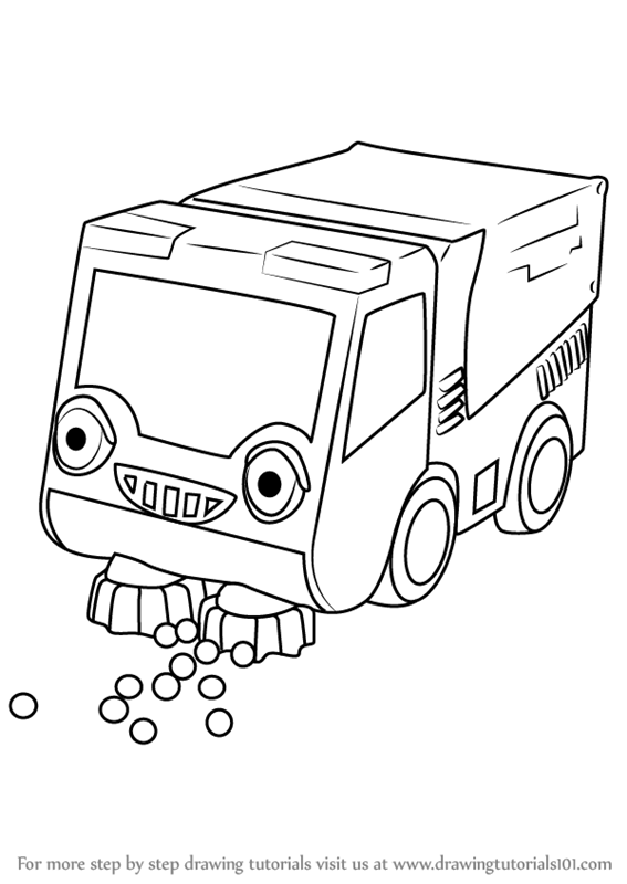 567x800 Learn How To Draw Bristle From Bob The Builder (Bob The Builder