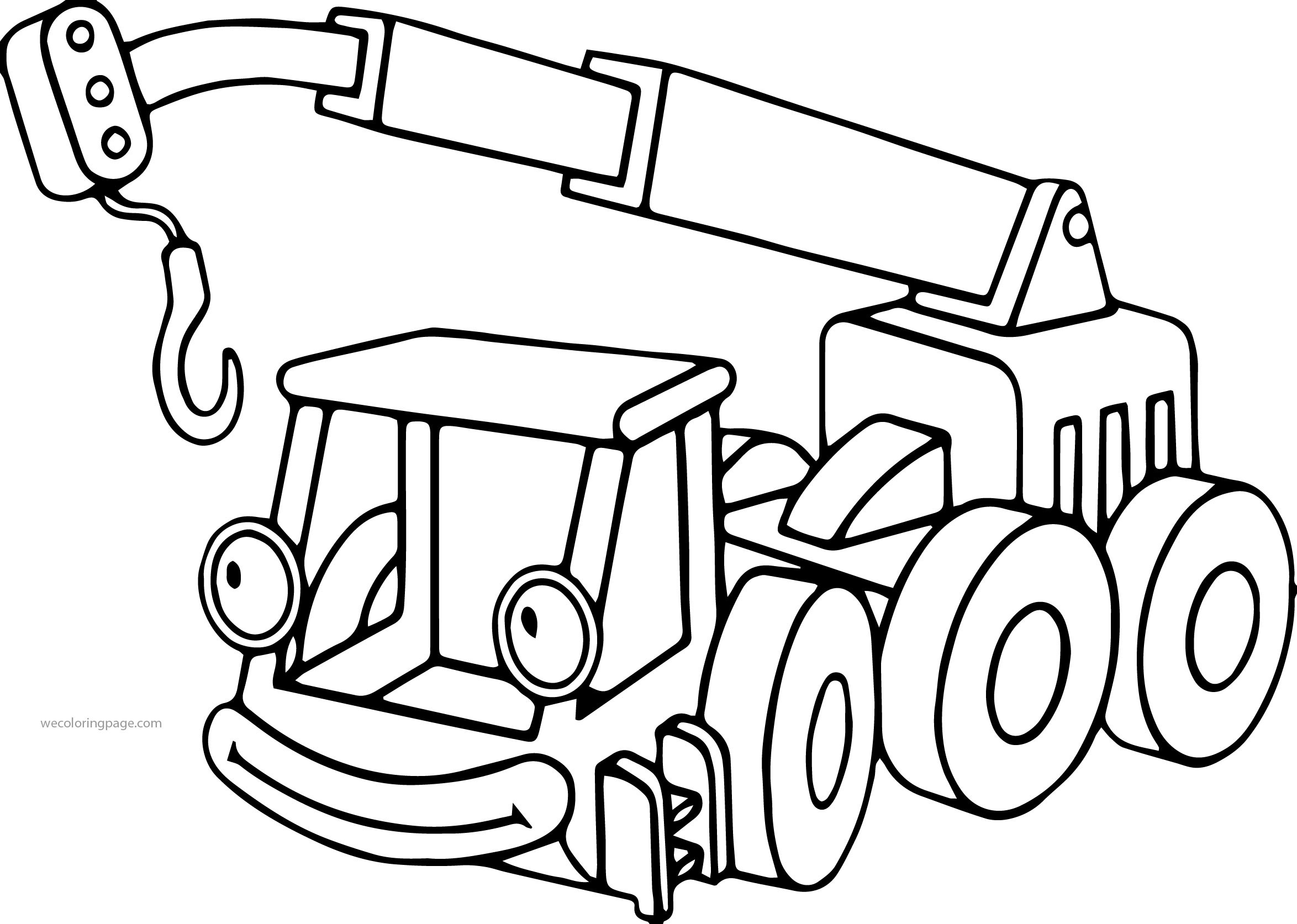 2348x1673 Bob And Tractors Coloring Pages For Kids Fresh Bob The Builder