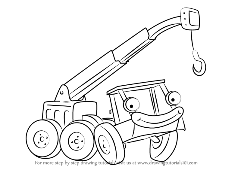 800x566 Learn How To Draw Lofty From Bob The Builder (Bob The Builder