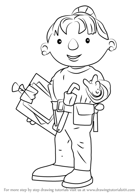 567x800 Learn How To Draw Wendy From Bob The Builder (Bob The Builder