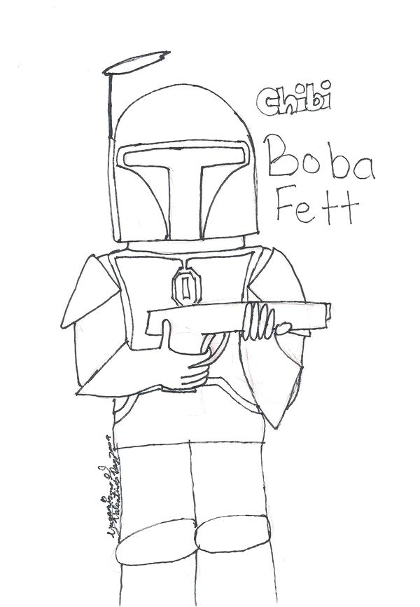 Boba Fett Helmet Drawing at GetDrawings.com | Free for personal use ...