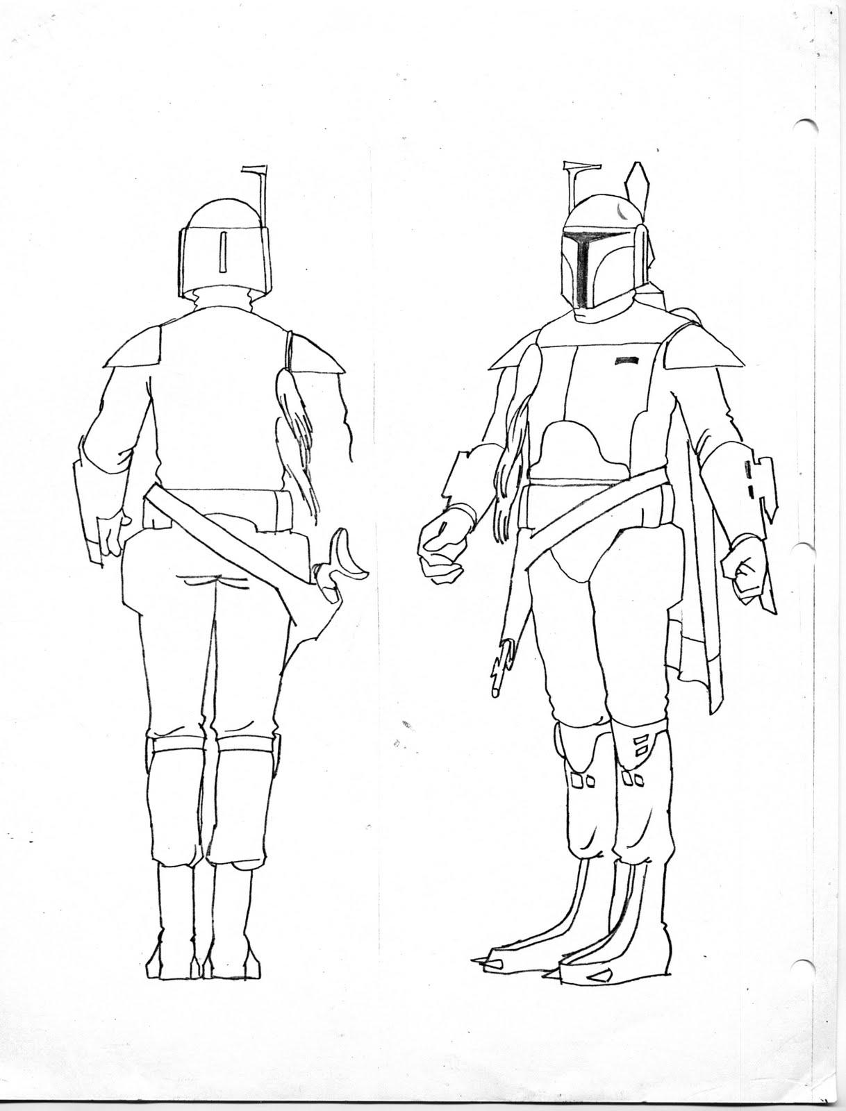 1218x1600 John The Animator Guy Boba Fett Amp The Star Wars Holiday Special