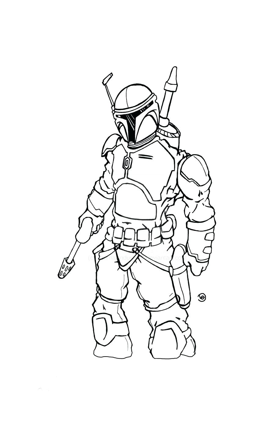 Unusual Star Wars Coloring Pages Boba Fett Helmet Photos - Entry ...