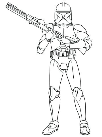 360x480 Jango Fett Coloring Page Coloring Collection