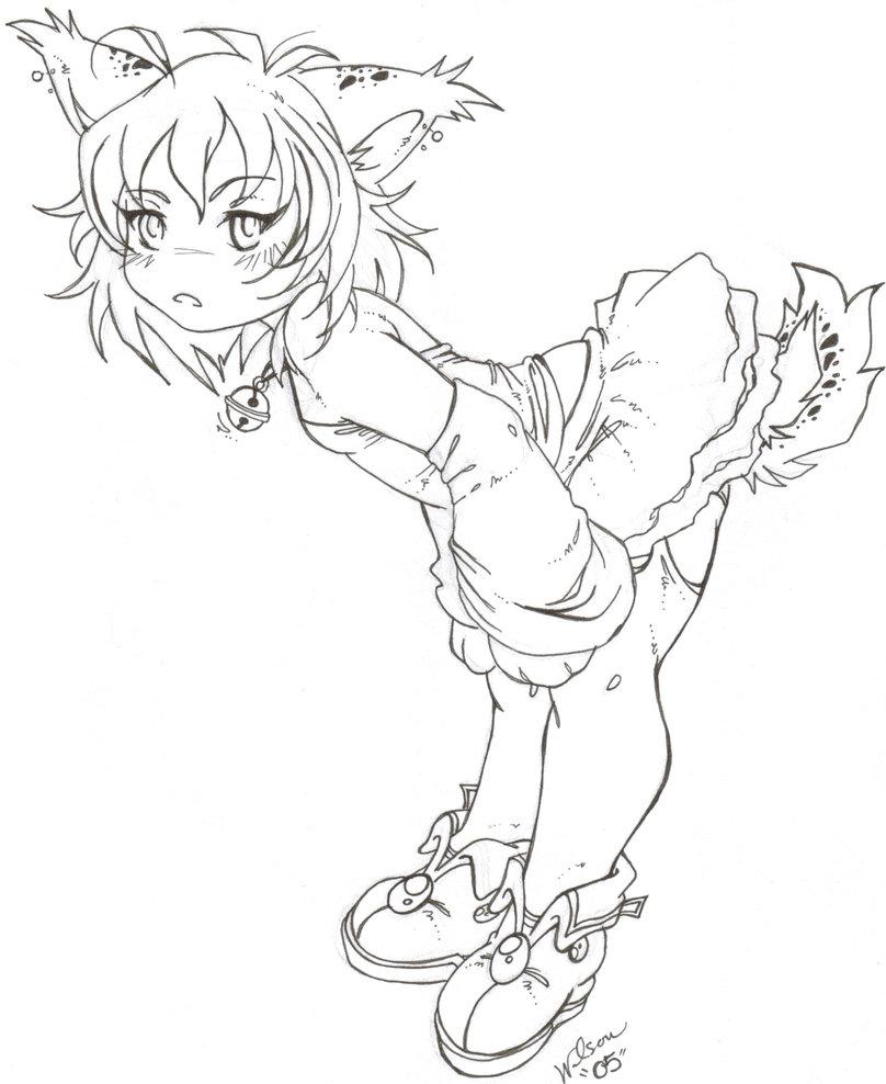 808x988 Anime Bobcat By Blue Echo 23
