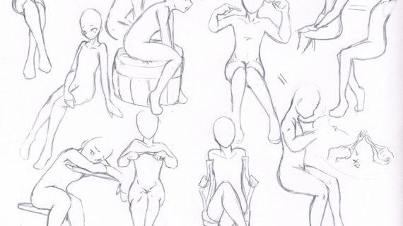 570x320 Drawing Anime Bodies How To Draw Manga Boy Body