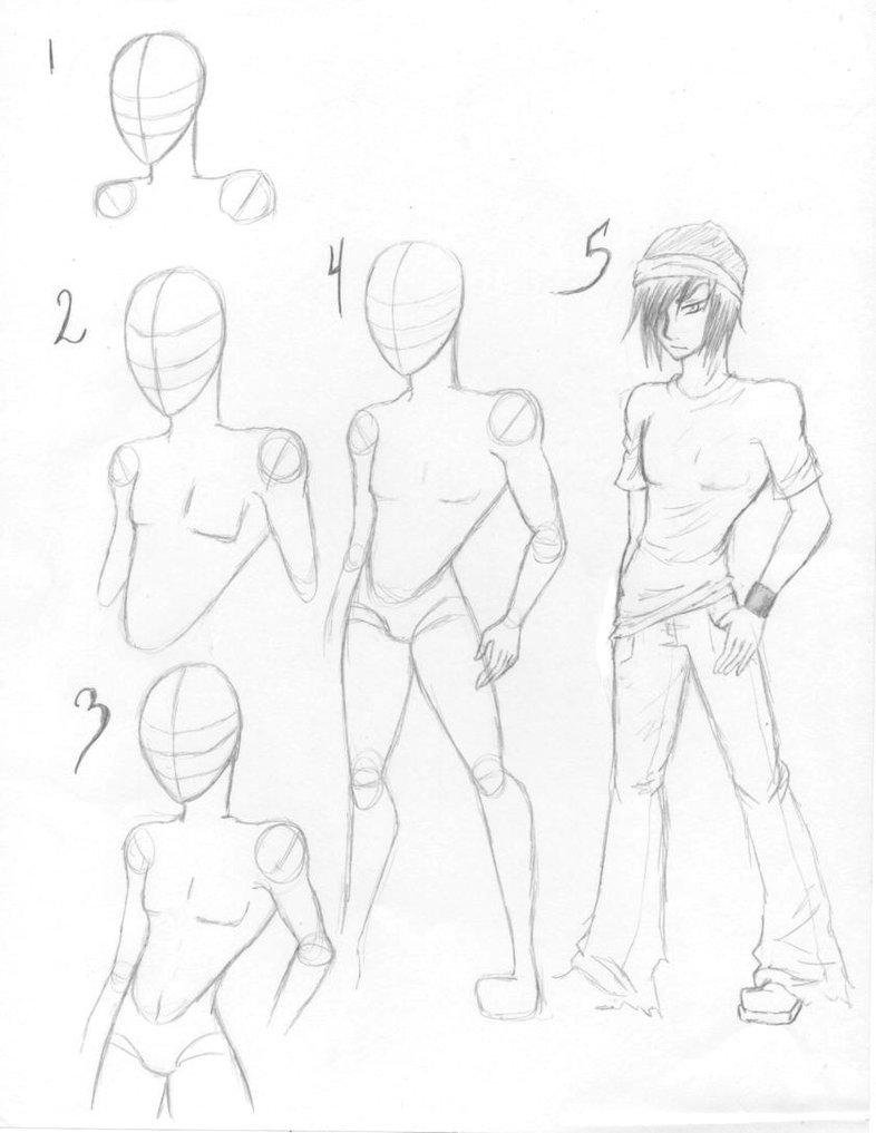 786x1017 How To Draw Male Bodies By Kt Zombie