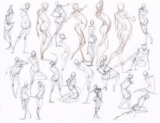 Body Anatomy Drawing
