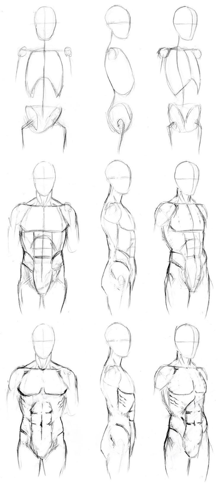 736x1656 Drawn Figurine Simple Human
