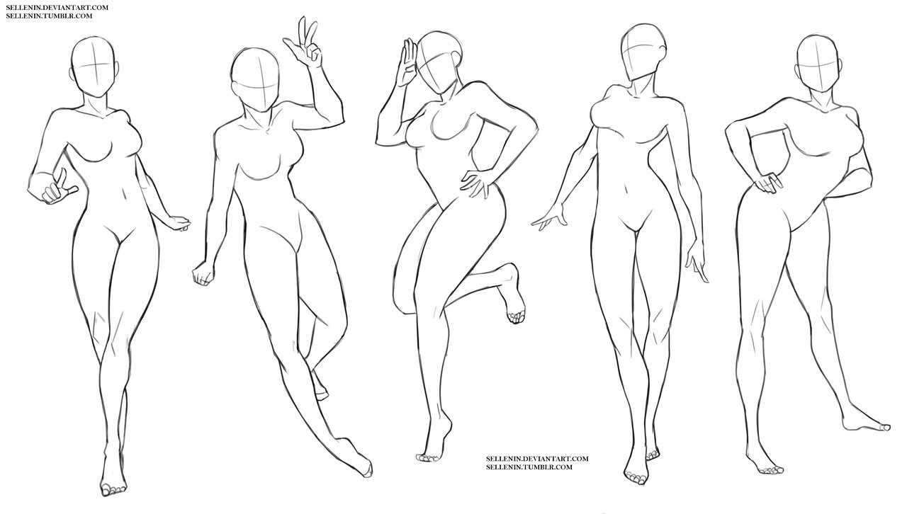 Body Base Drawing