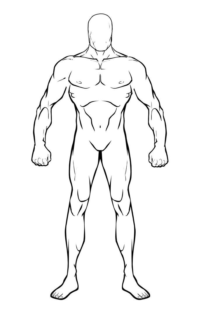 730x1095 Male Body Base By Bioclay88
