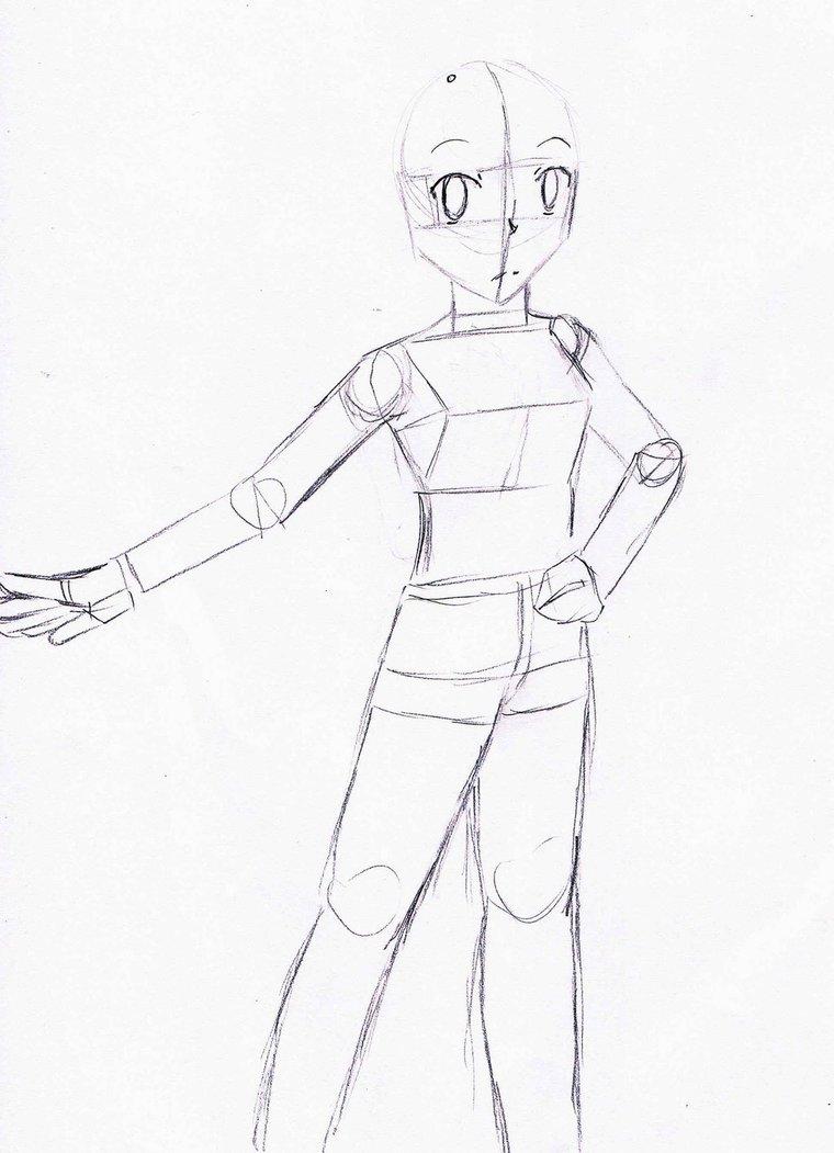 760x1051 Body Base Sketch (001) By Gmsp123