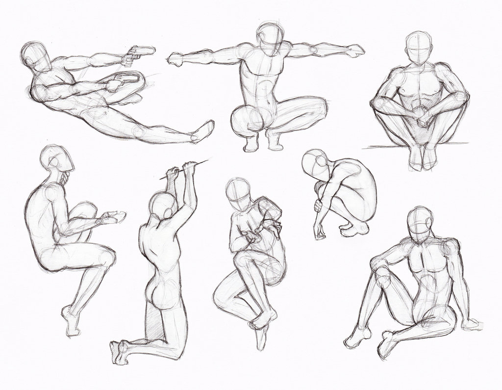 1024x795 Copy's And Studies Kate Fox Male Body's Part 2 By Hirvios