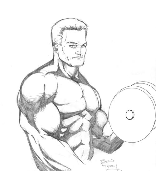 500x547 Bodybuilder By Seanforney