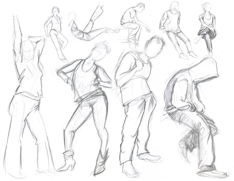 800x618 Figure Drawing