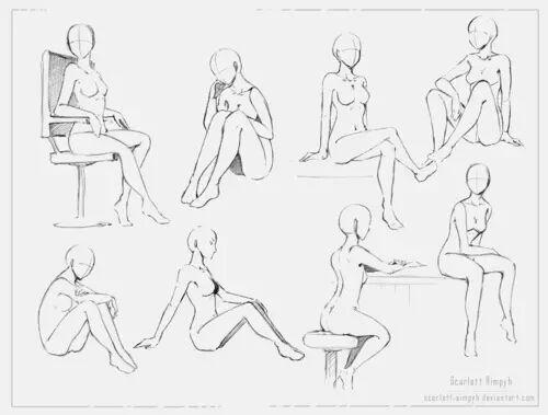 500x379 Manga Body Shapes Anime Amino