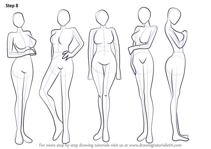 736x521 Drawing Body Tutorial Learn How To Draw Anime Body Female Body