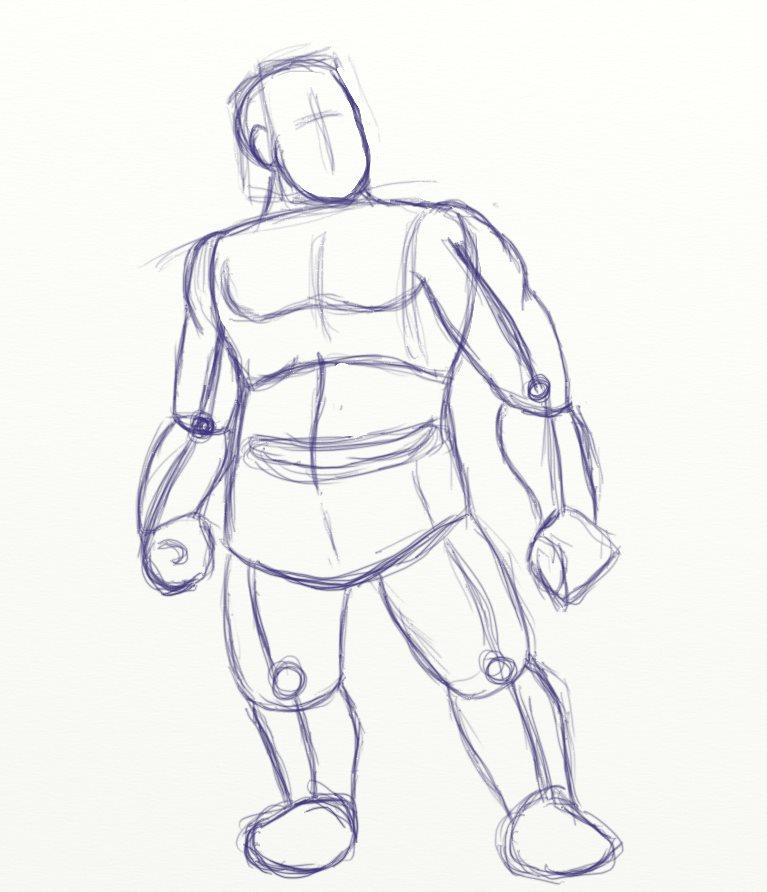 767x892 Dwarf Ranger Step By Step Roamin' Doodles