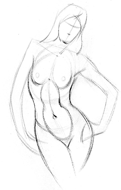 248x388 How To Draw Abs