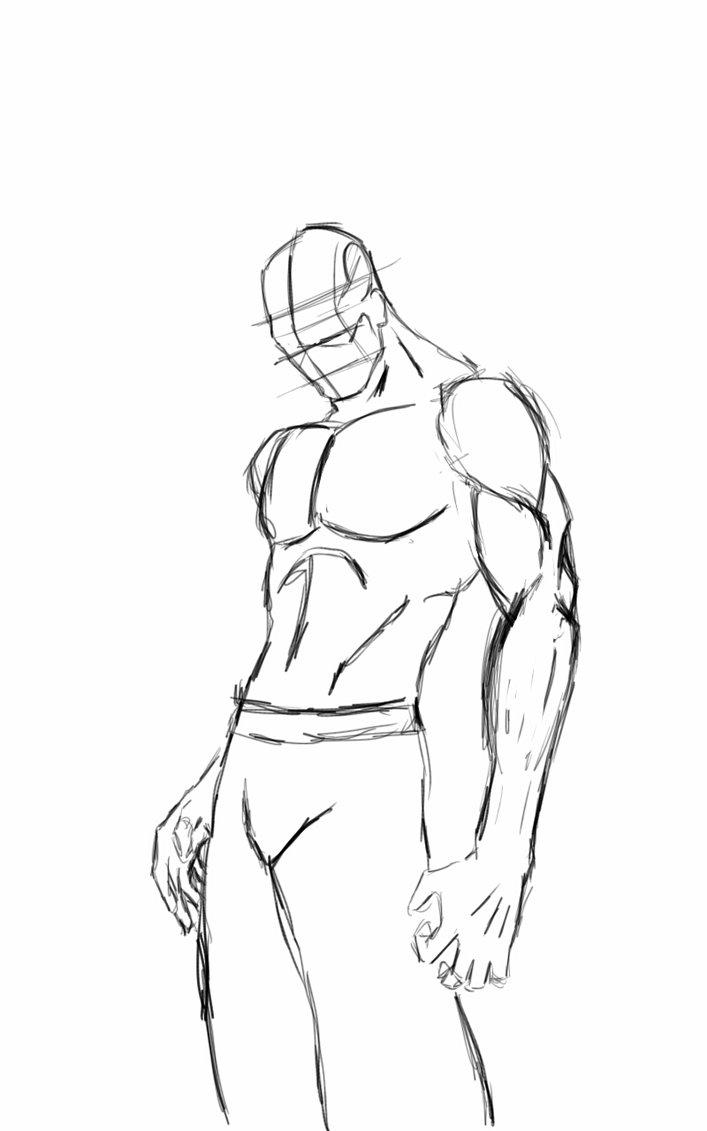 707x1131 Practice Sketch Body Form By Ilsor908