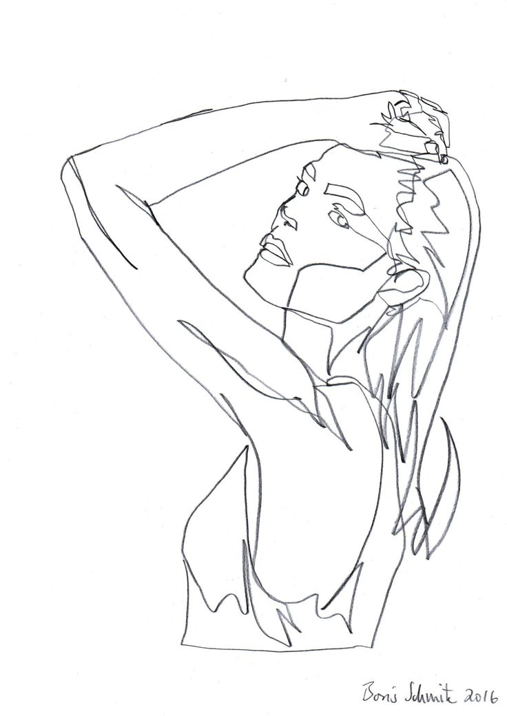 Body Line Drawing