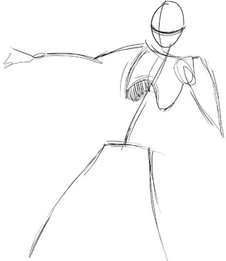 450x520 Drawing Male And Female Manga Bodies Tutorial
