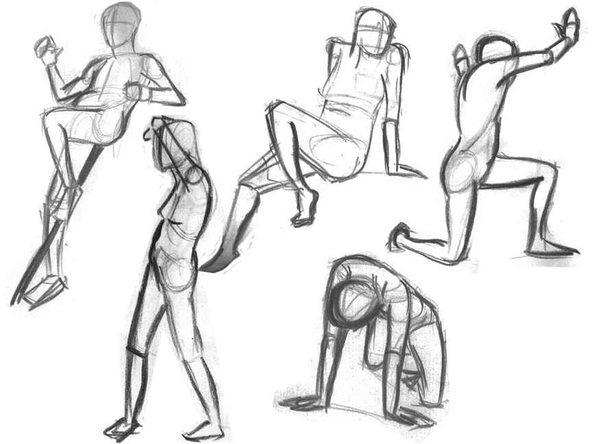 864x648 Figure Drawing