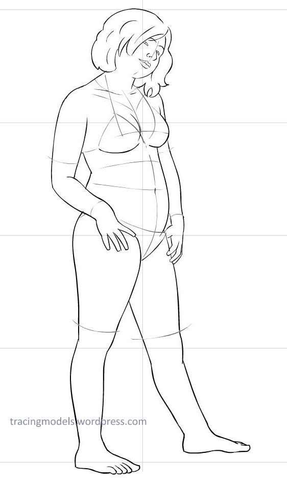 562x944 Our Newest Model To Draw Leila Tracing Models