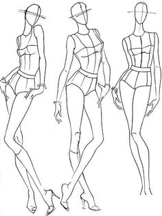 236x315 Woman Body Figure Fashion Template (D I Y Your Own Fashion