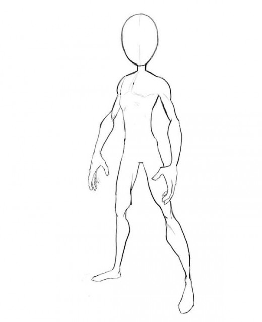 520x639 How To Draw Spiderman Body Outline Hubpages