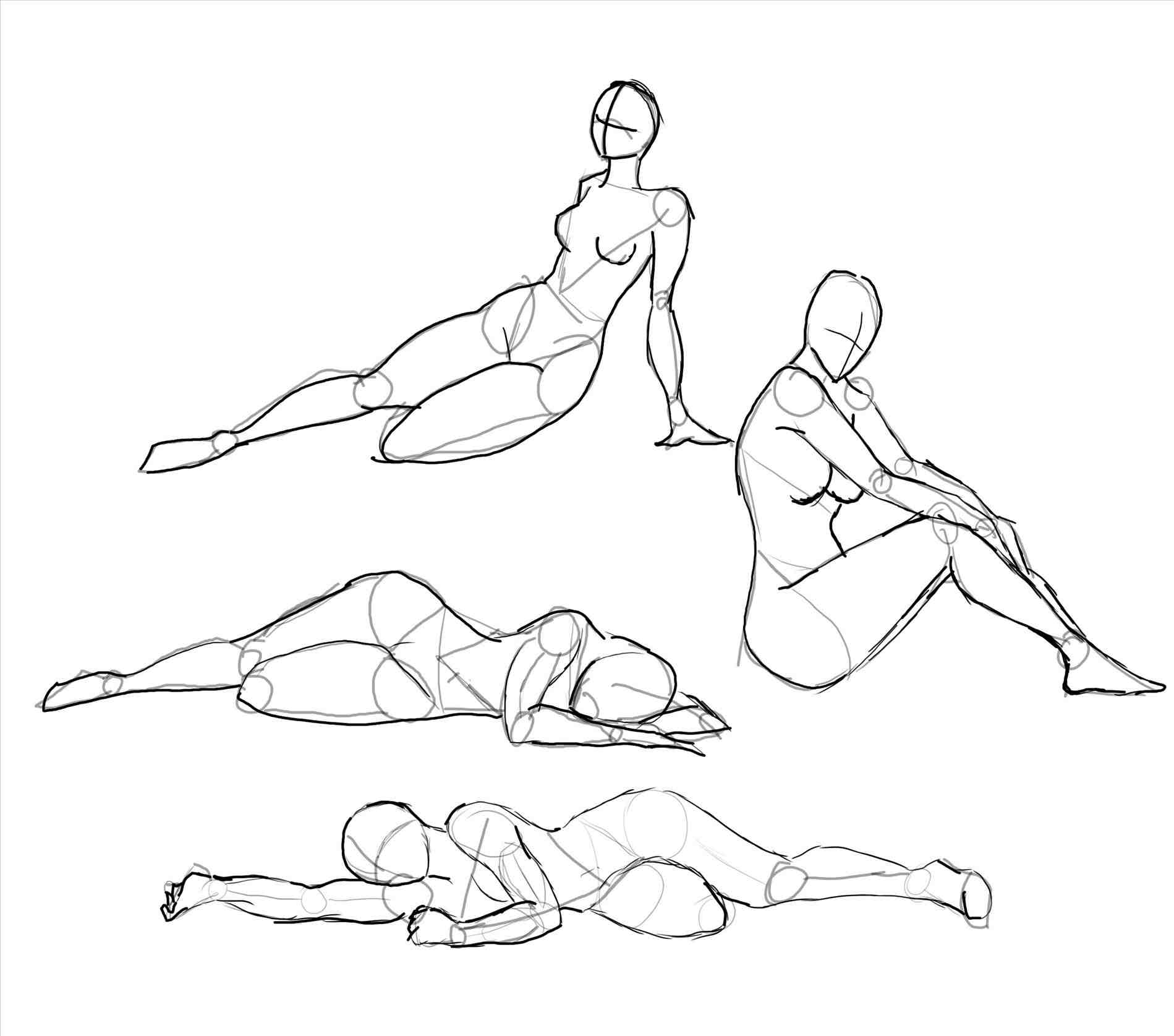 1899x1675 Human Body Outline Pdf