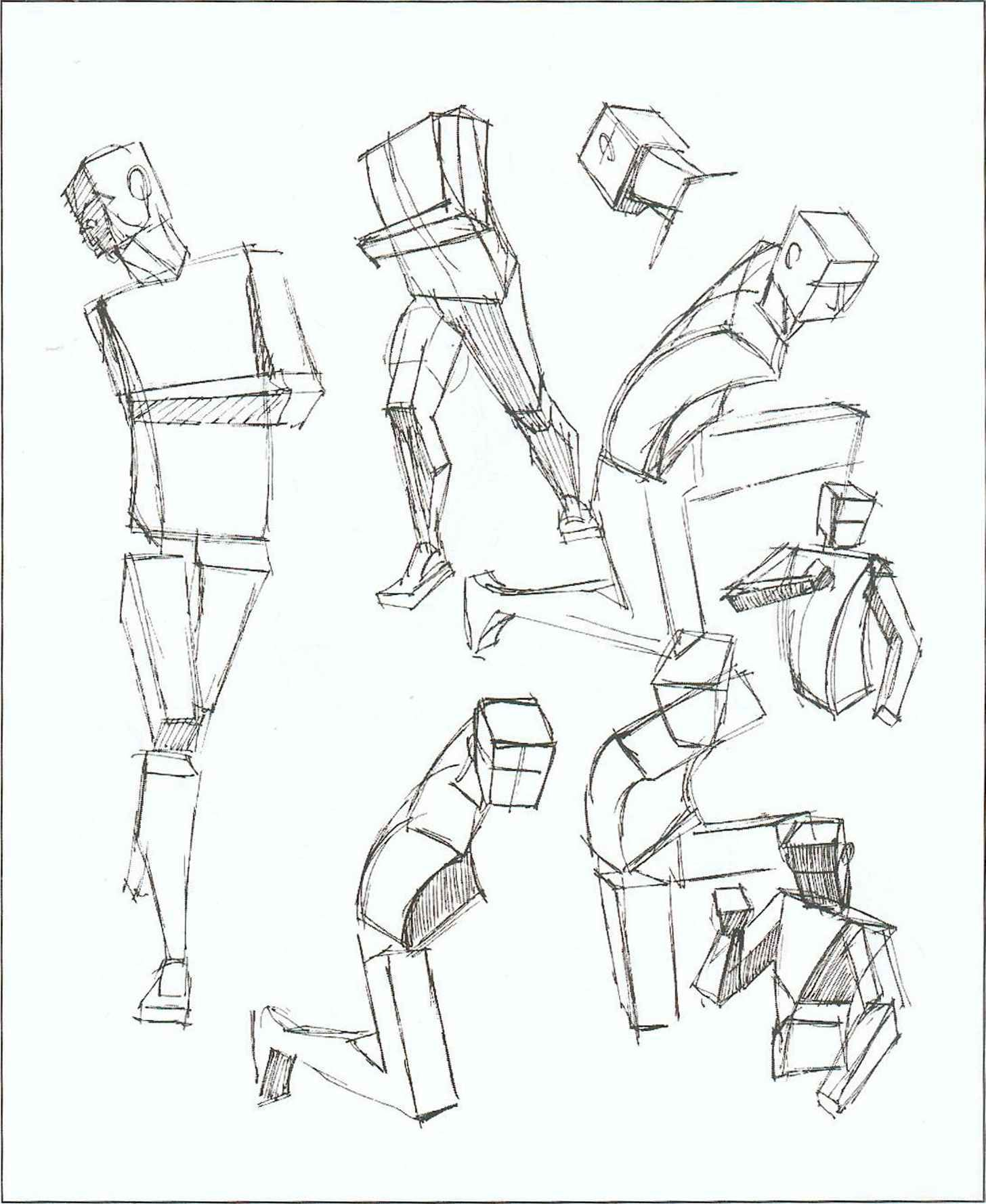 1456x1779 Today's Drawing Class 101 Drawing Body Parts Angles Human