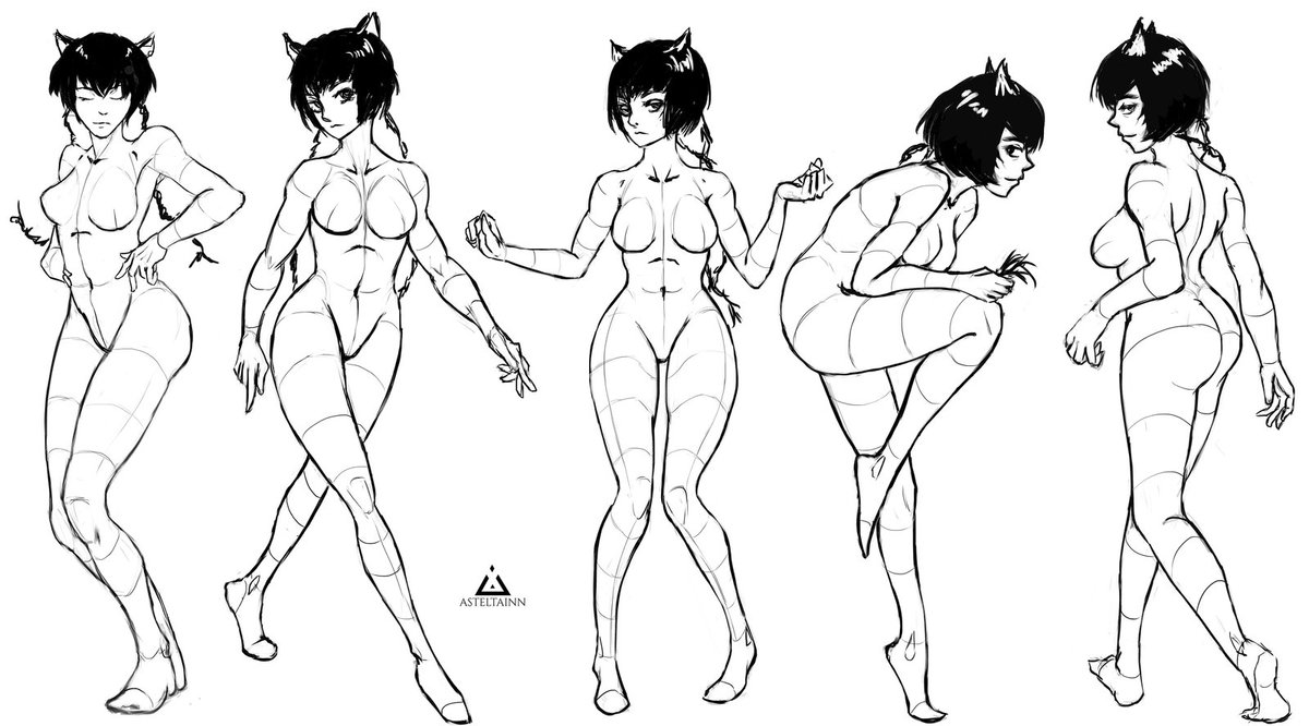 1200x666 Poses D By Asteltainn