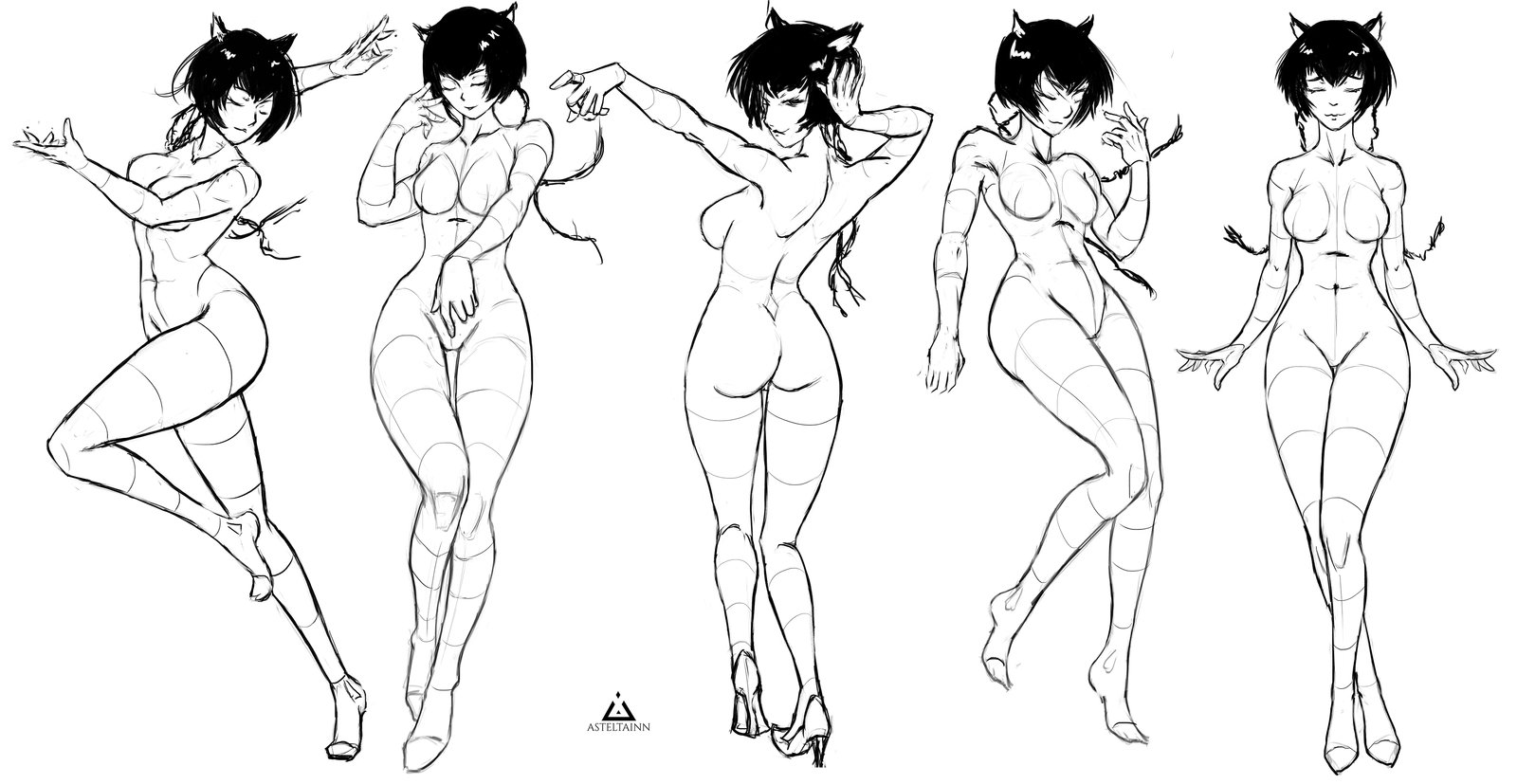 Body Poses Drawing at GetDrawings.com | Free for personal use Body ...