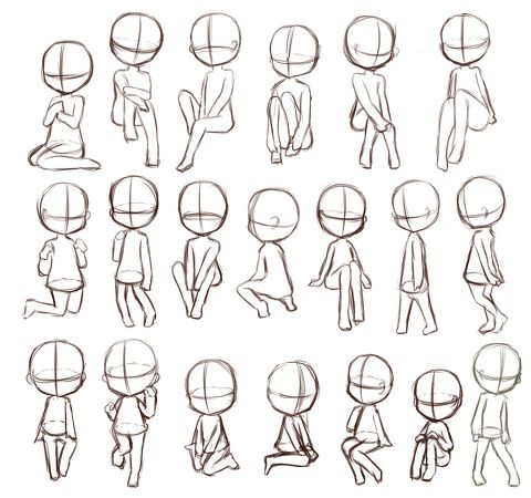 Body References For Drawing