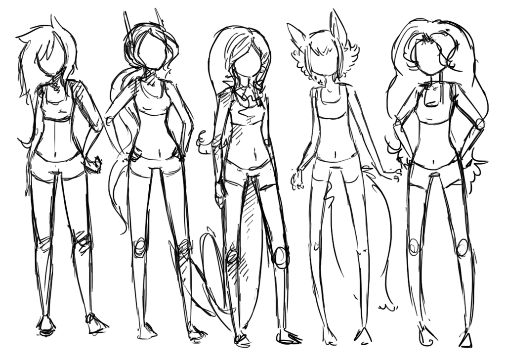 1024x736 My Rp Group Girls' Body Types References By Forestii
