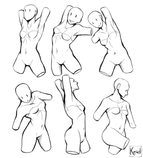 500x555 Female Art Reference Tumblr