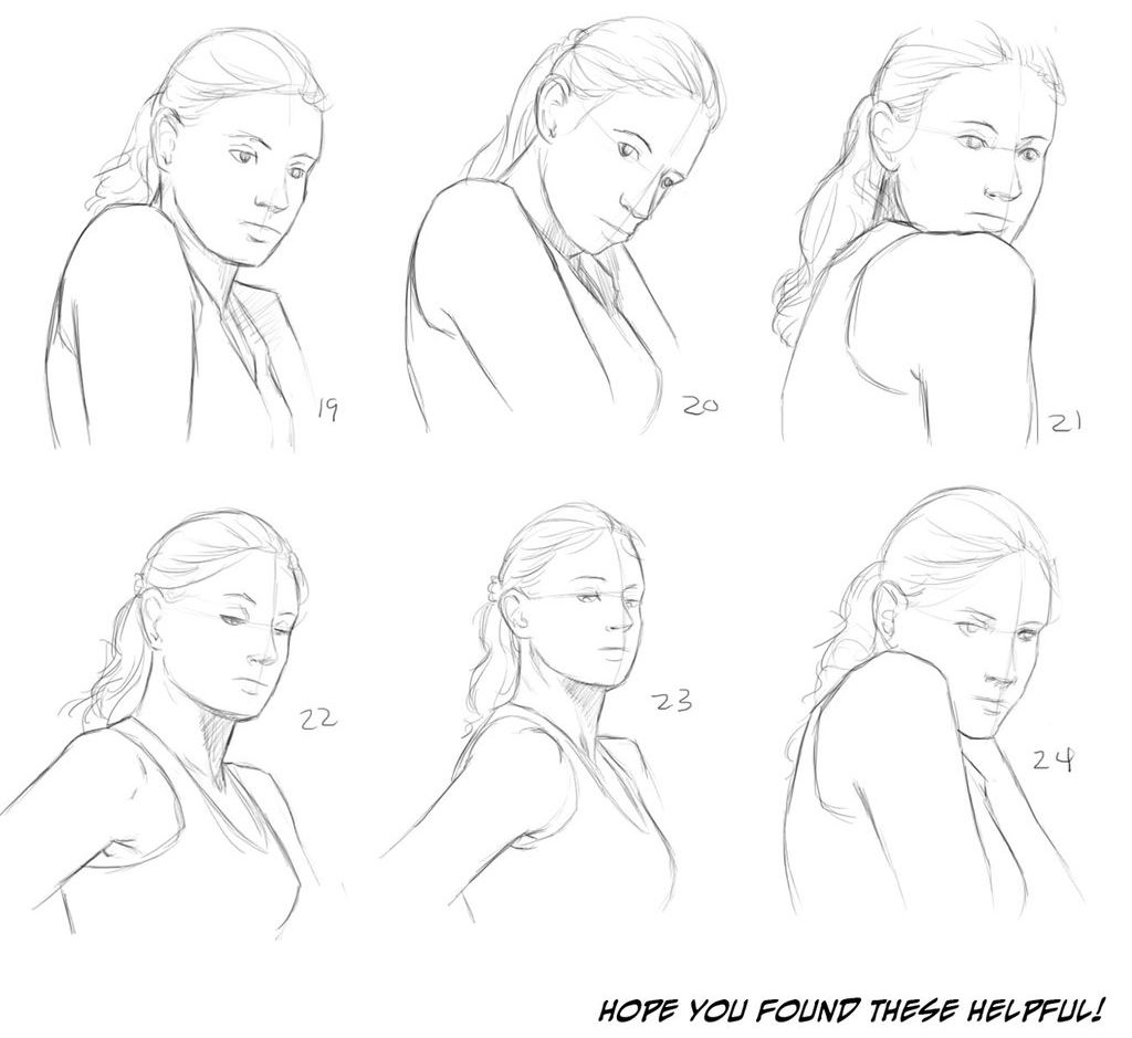 1024x939 Helpyoudraw Neck Reference Updated By Melissadalton