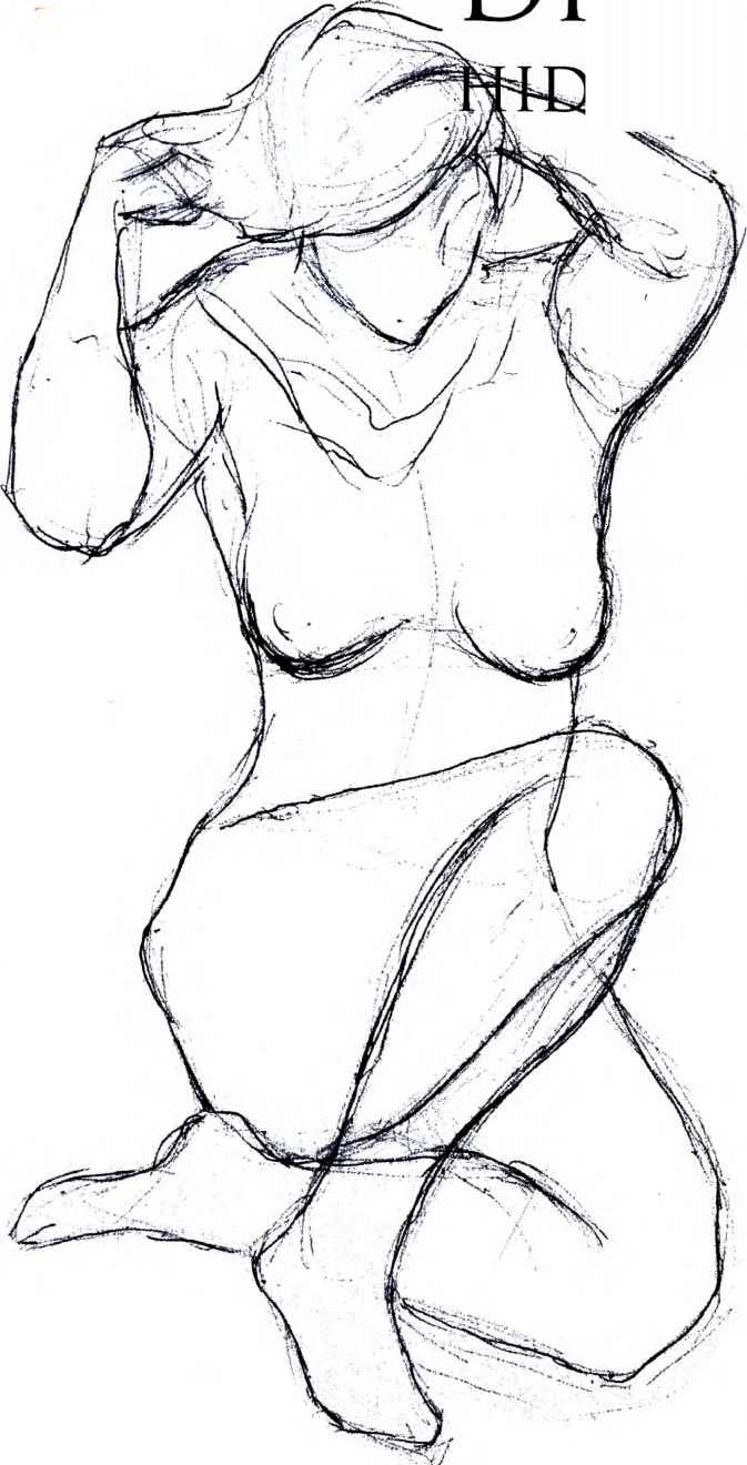 673x1320 Drawing The Muscles