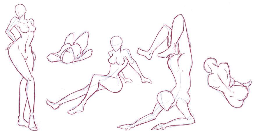 900x450 Female Body Studies By Finn93goochiro