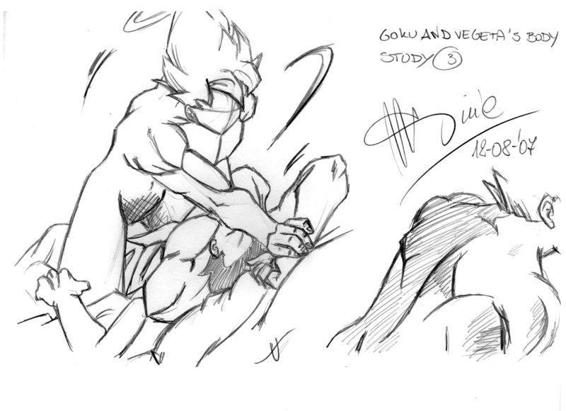 800x580 Goku's Body Study 3 By Latinodrop
