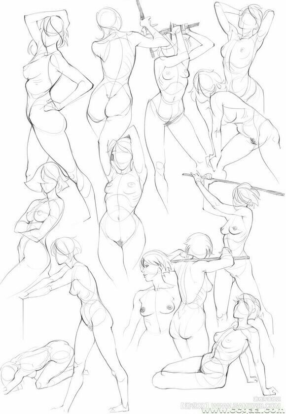 580x841 Pin By Crazy352 On Perspectiva Anatomy, Pose And Draw