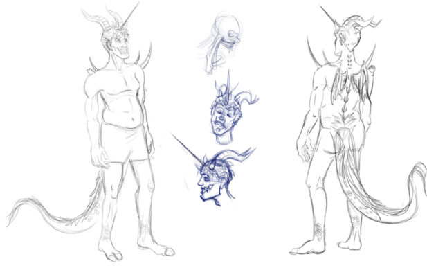 617x400 Character Concepts And Development Shottsy Arts